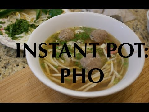 Instant Pot Pho FAST AND EASY!