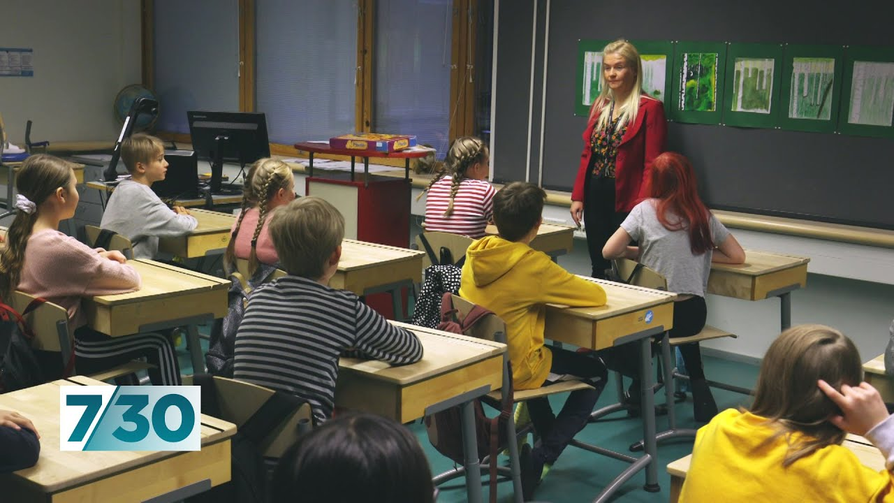 Why Finland's schools outperform most others across the developed world   7.30