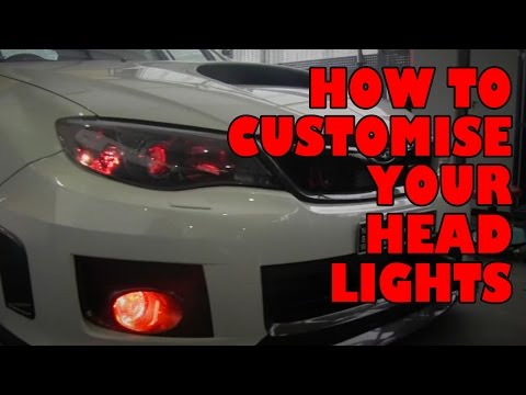 How to Customize Your Head Lights