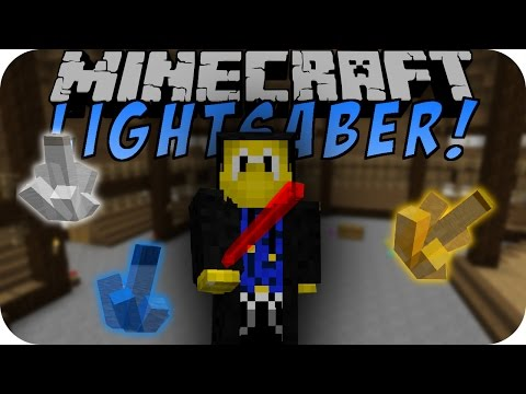 Minecraft LIGHTSABER MOD (STAR WARS)