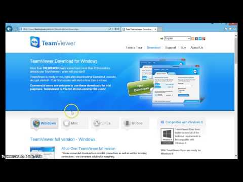 How to get Teamviewer For Free!