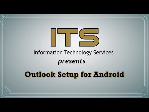Outlook -  Setup for Android