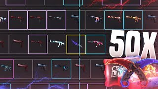 OPENING 50 FIRE AND ICE CASES! ($2750)