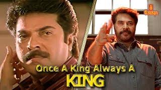 Once A King Always A King | Mammootty Mass Mashup | Saina