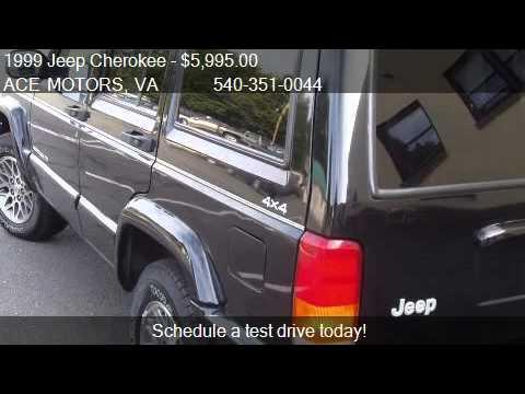 1999 Jeep Cherokee limited - for sale in Warrenton, VA 20186