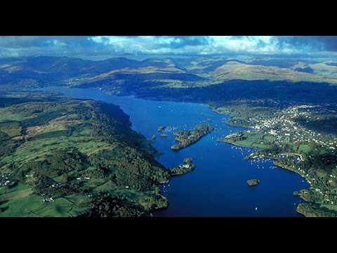 Camping at Lake Windermere and walking Old Man Coniston - Lake District