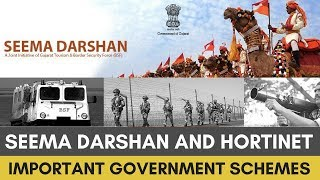 Seema Darshan and Hortinet - Important Government Schemes For UPSC ASPIRANTS By Rahul Agrawal