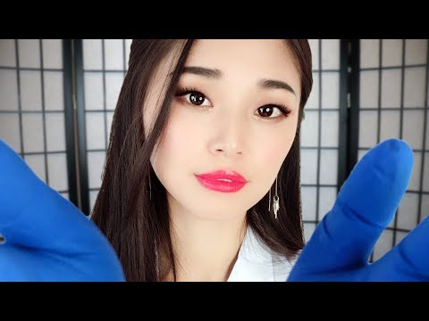 [ASMR] Flu Doctor Roleplay (Checkup and Treatment)