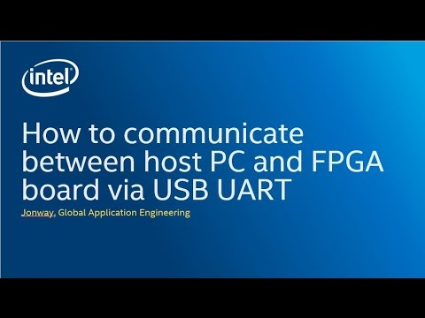 How to communicate between a host PC to USB UART