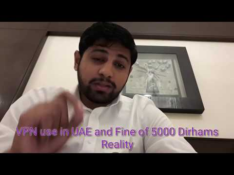 No fine for using VPN in UAE - Dh5000 fine message Reality