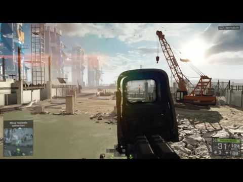 Battlefield 4 Game Play on Dell Inspiron 580