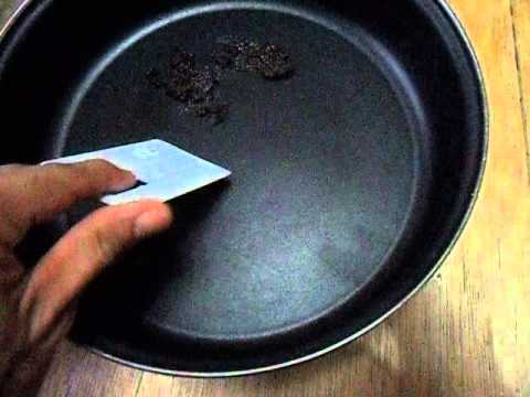 EASY TIPS ON HOW TO CLEAN STICKY GREASE ON NON STICK KITCHEN WARES