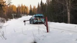 Ford Fiesta WRC 2017 Sebastian Ogier Test!