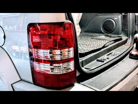 How to replace brake light on 2008-2012 Jeep Liberty
