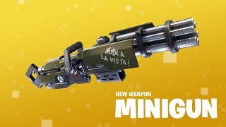 New Weapon: Minigun