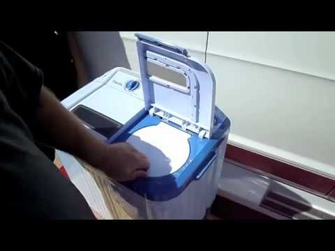 Living in a Van Laundry System Small Energy Efficient Wash Machine