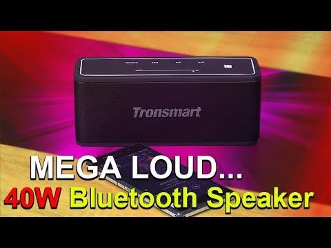 MEGA Loud 40W Bluetooth Speaker!! -- Tronsmart Element Mega