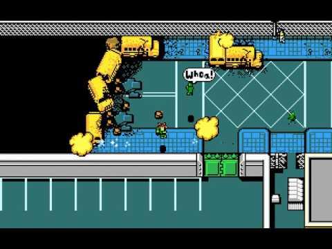 DOS Game: Retro City Rampage 486