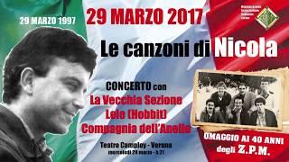 29 Marzo 2017 - Concerto Per Nicola Pasetto