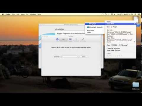 How to Capture WiFi (free!) in Mac OS X