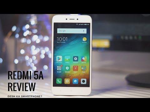 Living with the Redmi 5A - Desh ka Smartphone?