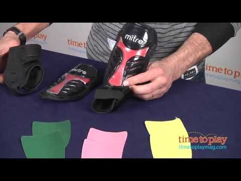 Chameleon Shin Guards from Mitre