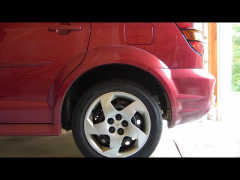 Pontiac Vibe Drum Brake Inspection And Mystery Noise Investigation