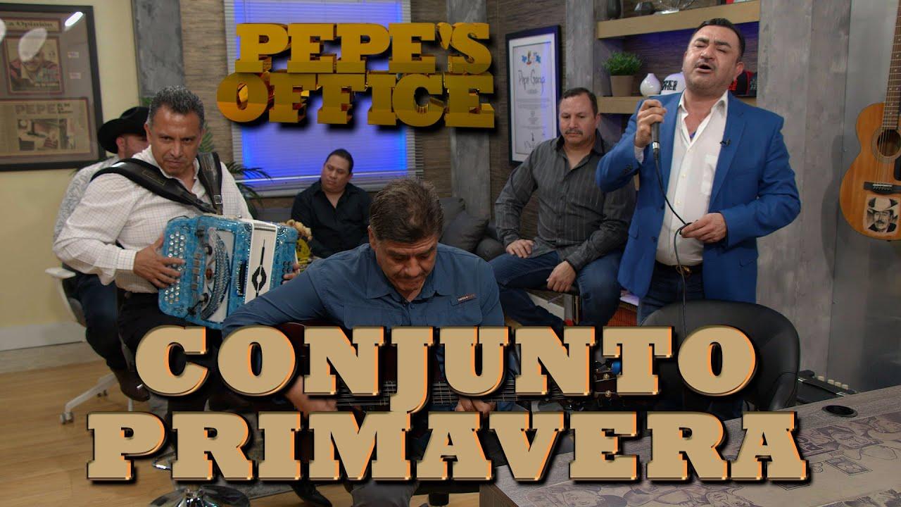 CONJUNTO PRIMAVERA POR PRIMERA VEZ EN EL ESTUDIO - Pepe's Office
