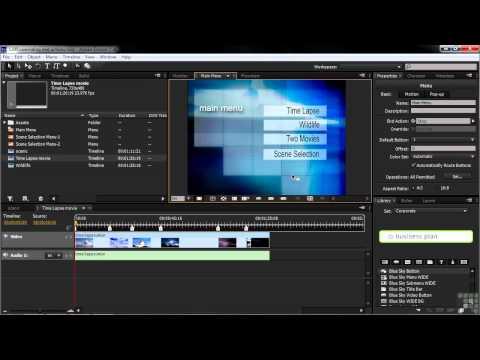 Adobe Encore CS6 Tutorials | Overriding End Actions | InfiniteSkills