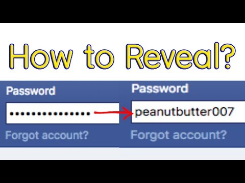 How to reveal/view auto-filled or saved passwords in Chrome, Safari or Firefox?
