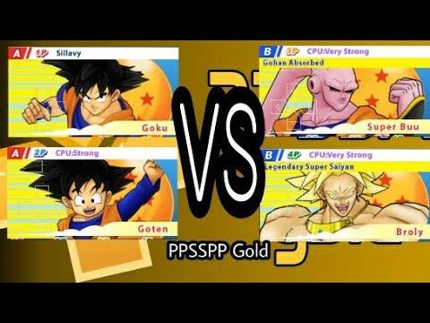 Goku Vs Super Buu, Dragon Ball Z - Tenkaichi Tag Team PPSSPP