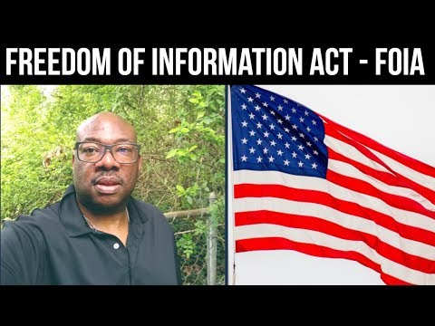 Freedom of Information Act Request [FOIA] for Real Estate Investors