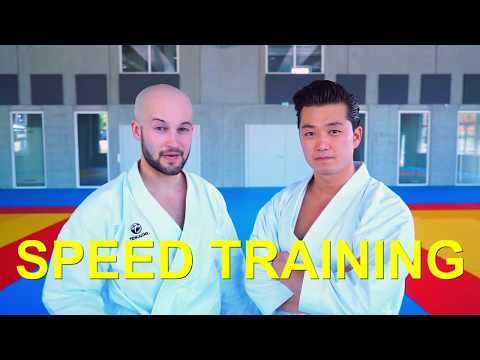 SPEED TRAINING - how to improve speed for KARATE KATA - TEAM KI