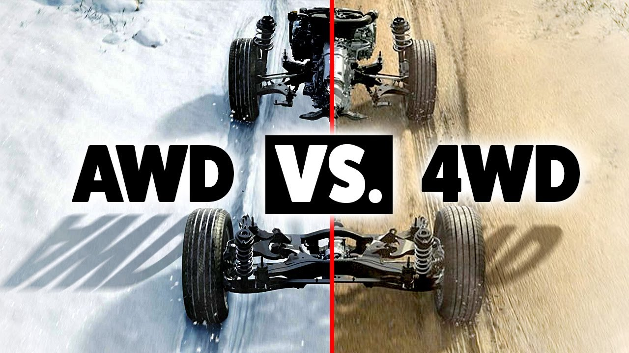 AWD vs 4WD... What's the Difference?!