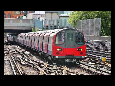 London Underground Tube Train action from 2012 Baker St, Stratford, Royal Oak, Liverpool St..m2ts