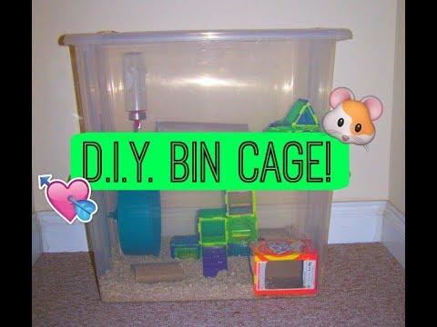 D.I.Y. Bin Cage!