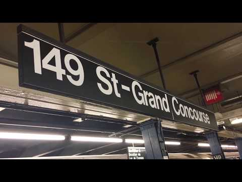 IRT Jerome Avenue Line: R142/A and R62A (6) Trains Begin and End Service at 149th St-Grand Concourse