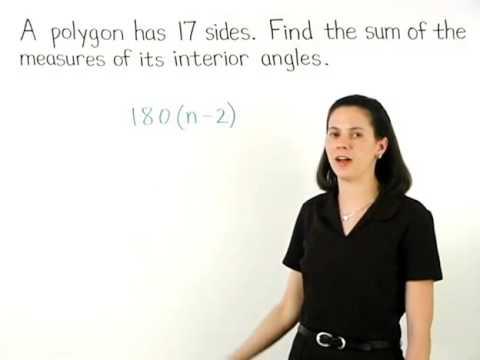 Sum of Interior Angles of a Polygon | MathHelp.com