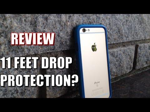 Strongest iPhone Bumper?! Rhinoshield CrashGuard Bumper Review!
