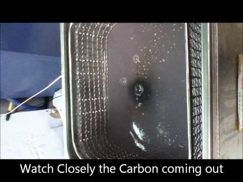 Removing Carbon Deposit using POWER CLEAN DEGREASER