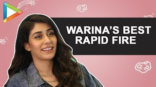 WOW: Warina Hussain's SURPRISING & IMPRESSIVE Performance in this HINDI Quiz | Rapid Fire