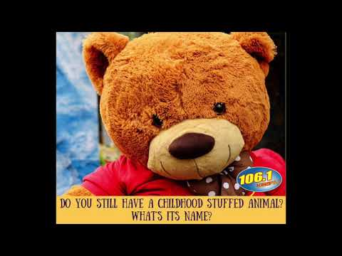 How Many Adults Have a Stuffed Animal from Childhood?