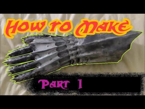 Pt1 Make Steel Armor Gauntlets: the Fingers