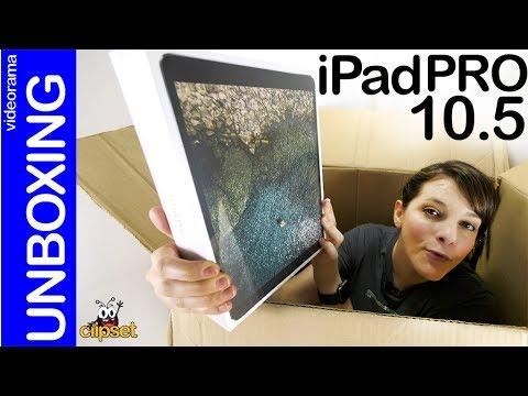 Apple iPad Pro 10.5 unboxing -superpantalla a 120 HZ-