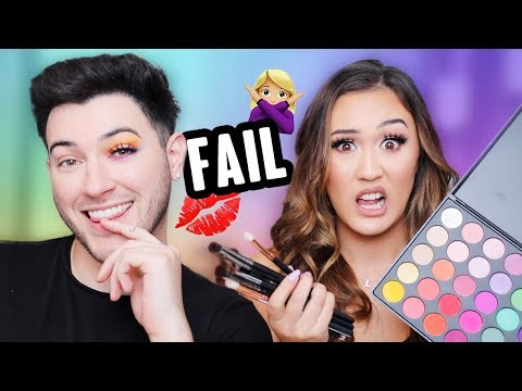 RECREATING MANNYMUA'S MAKEUP (FAIL)