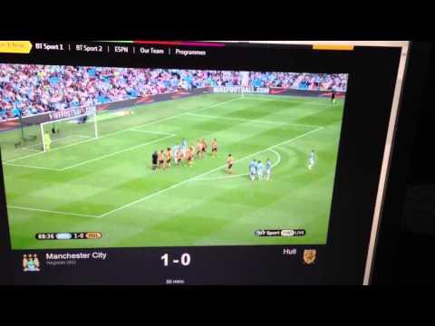 BT Sport = lame. Man city vs Hull