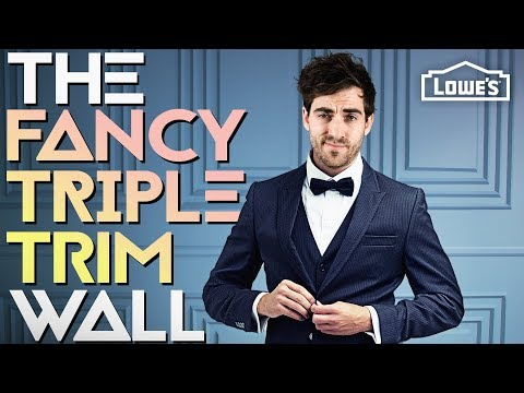THE FANCY TRIPLE TRIM WALL /// Experiment #007