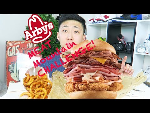 Arby's MEAT MOUNTAIN CHALLENGE!!!!!!!!!