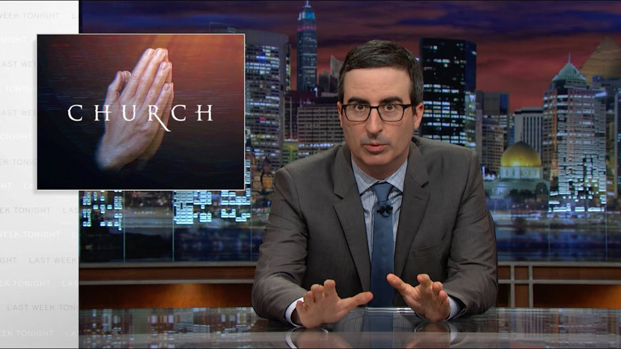 Televangelists: Last Week Tonight with John Oliver (HBO)