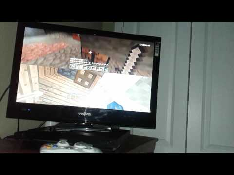 Minecraft with my brother part 1